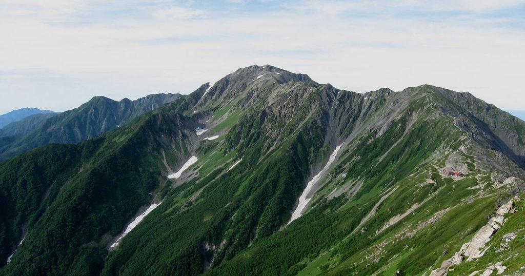 日本の山の高さ ベスト3